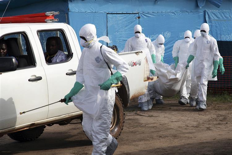 Casos de ébola podem subir até 10 mil por semana