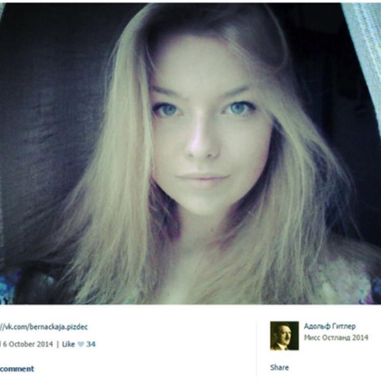 Concurso russo elege 'Miss Hitler'