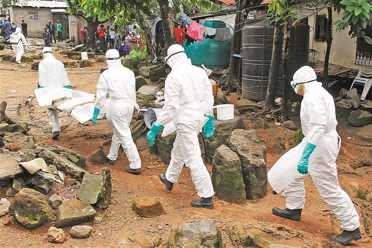 Um vírus em 'ebolição'