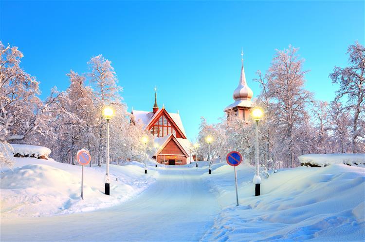 Cidade sueca vai mudar-se para 3km a Leste