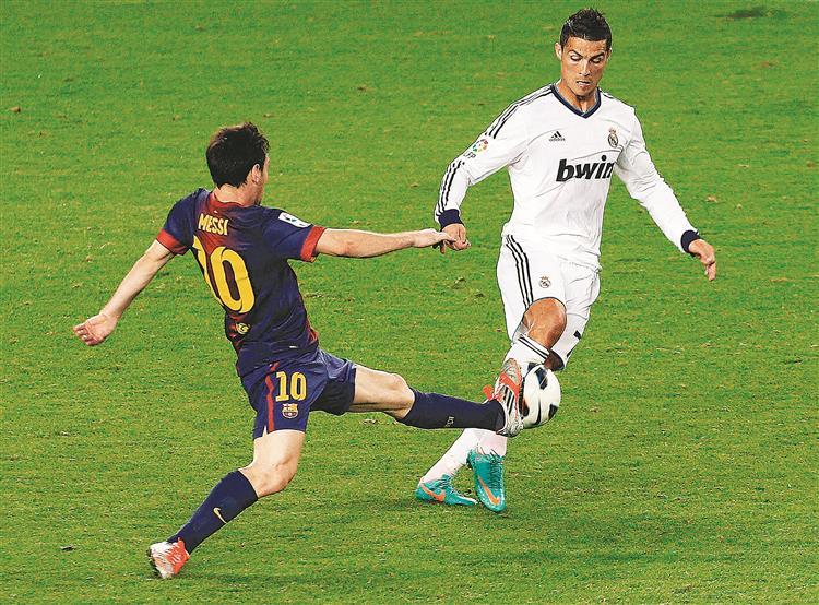 27.º round: Ronaldo VS Messi