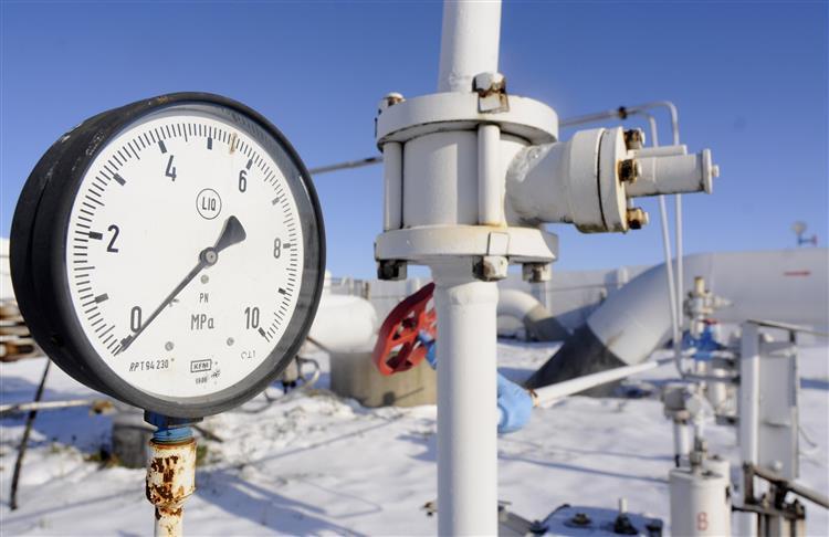 Ucrânia vai receber gás a conta-gotas