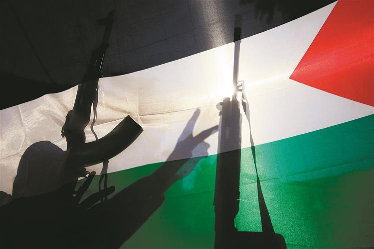 Palestina à lei da bala