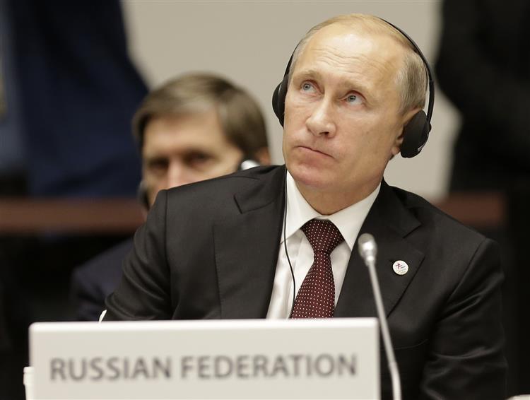 Putin acusa países do Ocidente de não gostarem de uma Rússia forte