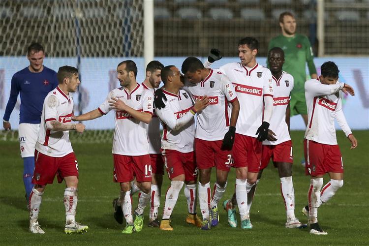 Sporting de Braga tenta recuperar quarto lugar na I Liga
