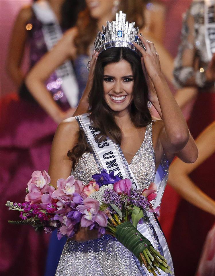 Esta mulher foi coroada Miss Universo
