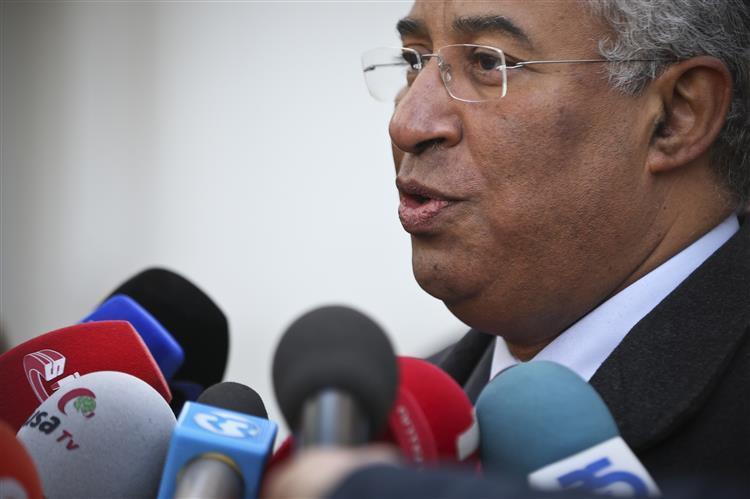 António Costa promete gestão governativa transparente e rigorosa