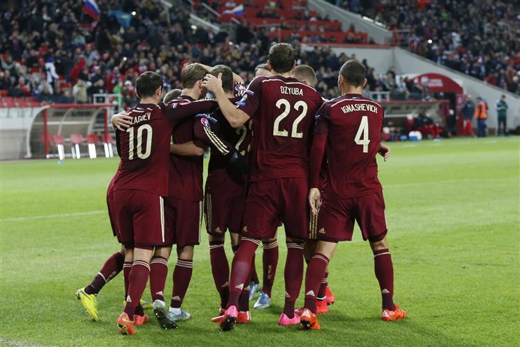 Rússia qualifica-se pela quarta vez consecutiva para um Europeu