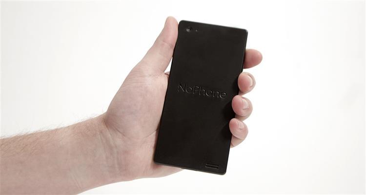 NoPhone: Já ouviu falar no 'smartphone' que não faz absolutamente nada?