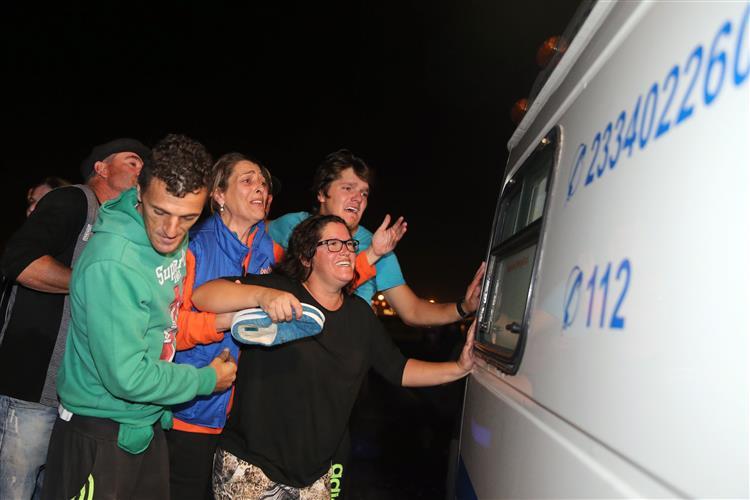 Retomadas buscas para encontrar desaparecidos em naufrágio na Figueira da Foz