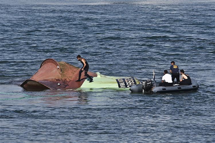 Figueira da Foz: Encontrado mais um corpo dentro do navio