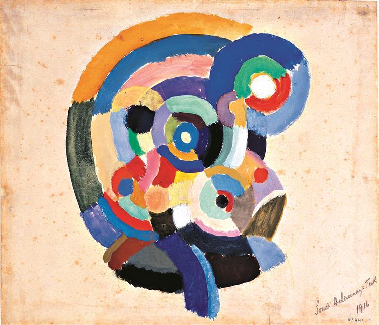 Os Delaunay e a arte que foge da violência