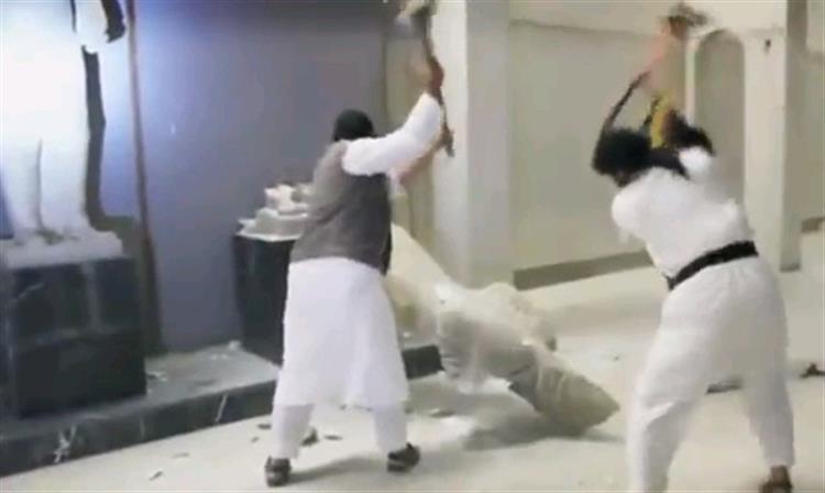 Estado Islâmico destrói tesouros históricos