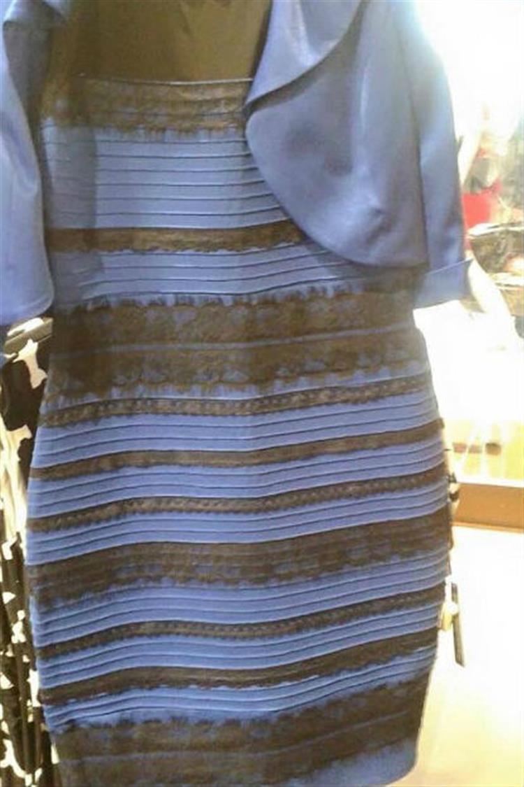 A Ciência explica o fenómeno por trás do vestido que se tornou viral na net