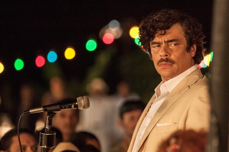 Benicio del Toro: 'Escobar era o Godzilla dos traficantes'