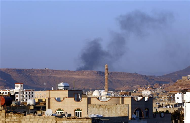 Ataque aéreo mata 45 pessoas em campo de refugiados no Iémen