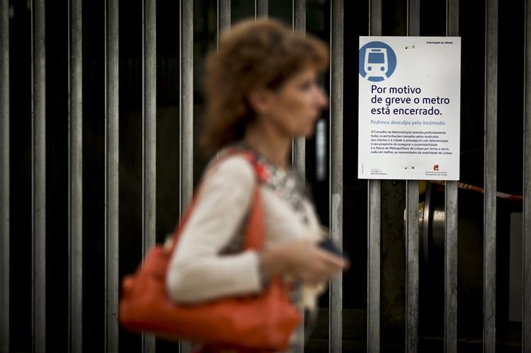 Metro de Lisboa volta a fazer greve