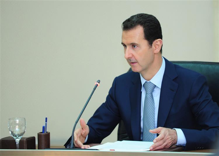 Serviços de informações sírios e franceses têm mantido contactos, diz al-Assad
