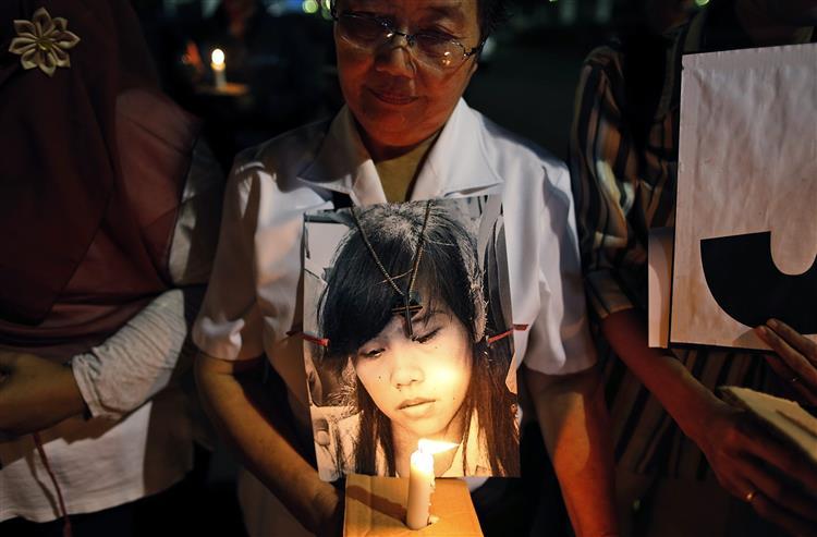 Indonésia executou oito estrangeiros, mas Mary Jane escapou