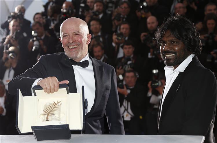 Dheepan, do francês Jacques Audiard, vence Palma de Ouro de Cannes