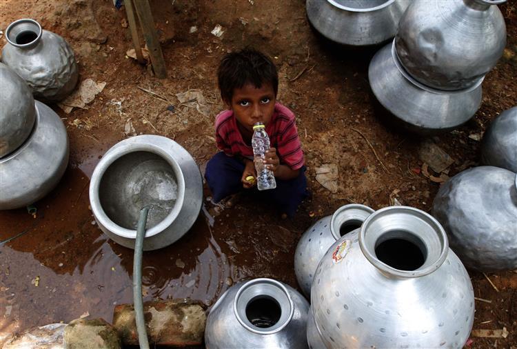 Vaga de calor na Índia já fez mais de 2 mil mortos