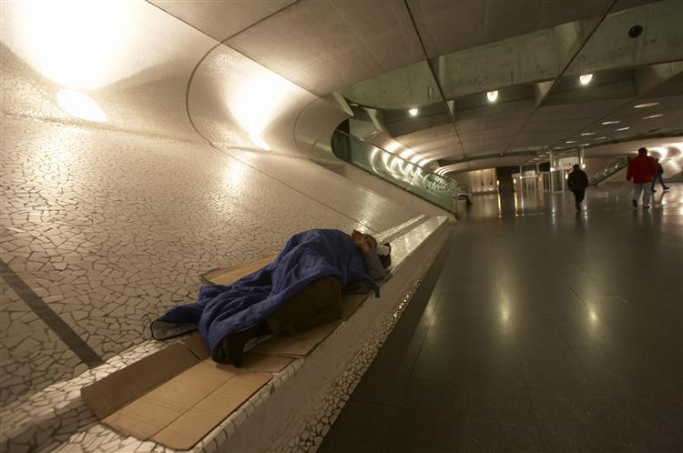 Voluntários vão recontar sem-abrigo de Lisboa