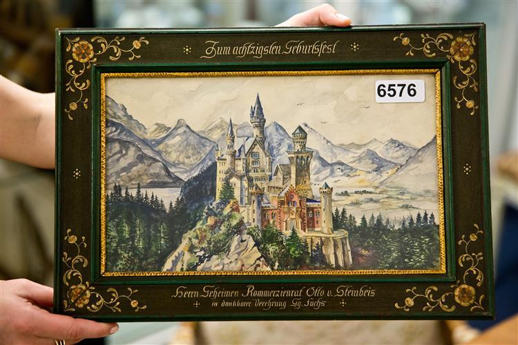 Hitler também pintava. Desenhos renderam 400 mil euros neste fim-de-semana
