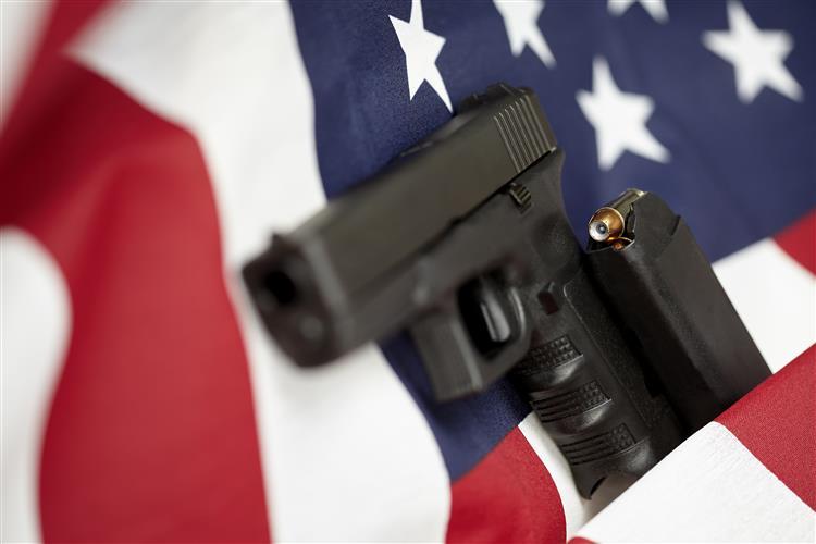 Um em cada três americanos têm uma arma em casa