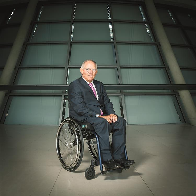 Wolfgang Schäuble. O outro lado de um velho lobo