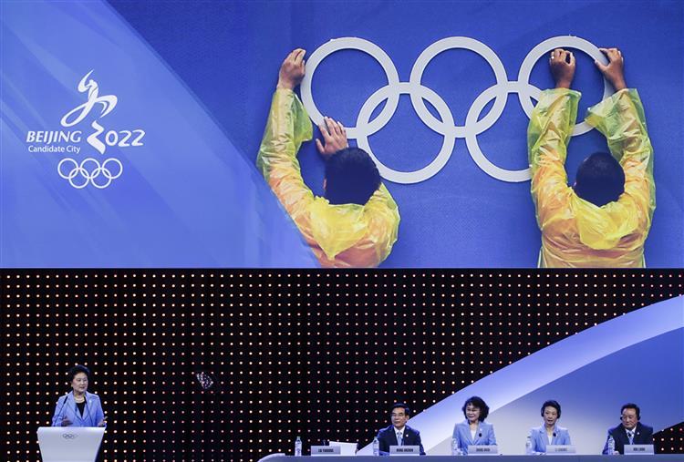 Pequim vai organizar Jogos Olímpicos de inverno de 2022