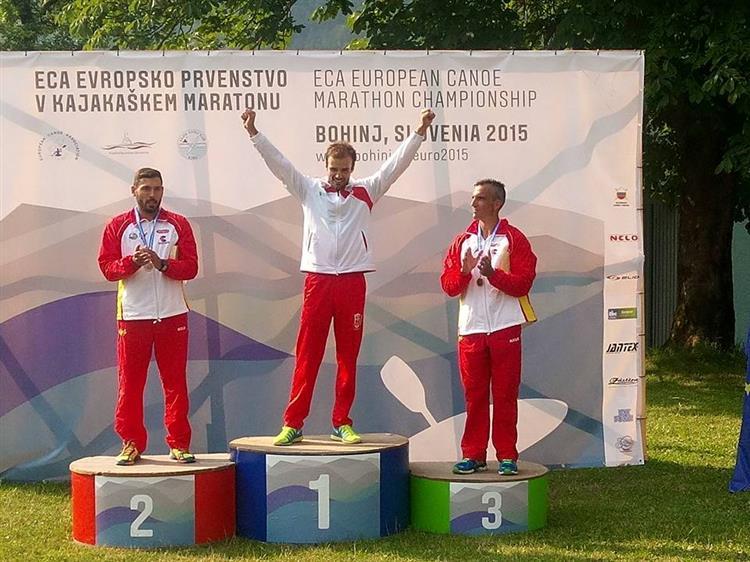 José Ramalho bicampeão europeu de maratonas em canoagem