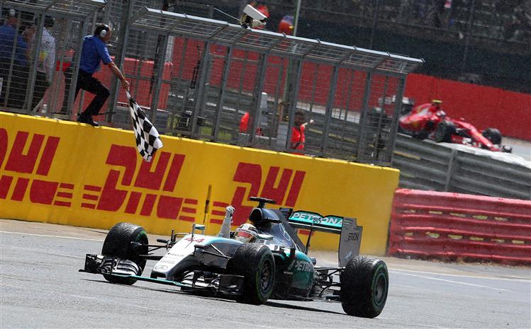 F1: Hamilton vence GP da Grã-Bretanha