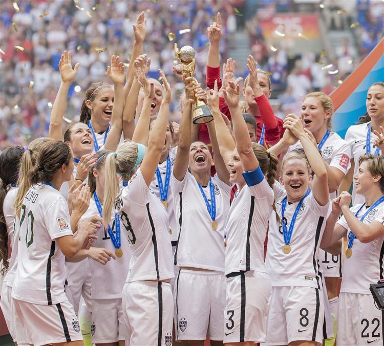EUA vencem Mundial feminino de futebol