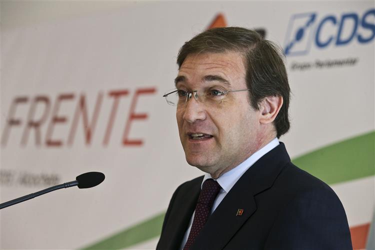 Passos leva mensagem de confiança na zona euro ao debate do 'Estado da Nação'