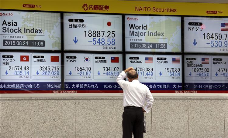 China. Entre o pânico das bolsas e a euforia do consumo