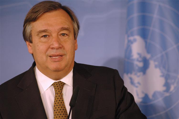 António Guterres. Crise dos migrantes requer 'resposta coerente' da Europa