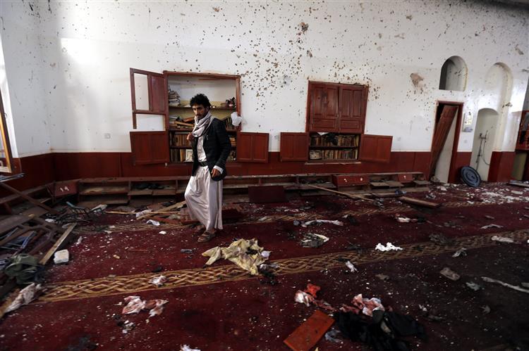Iémen. Estado Islâmico reivindica duplo atentado contra mesquita xiita
