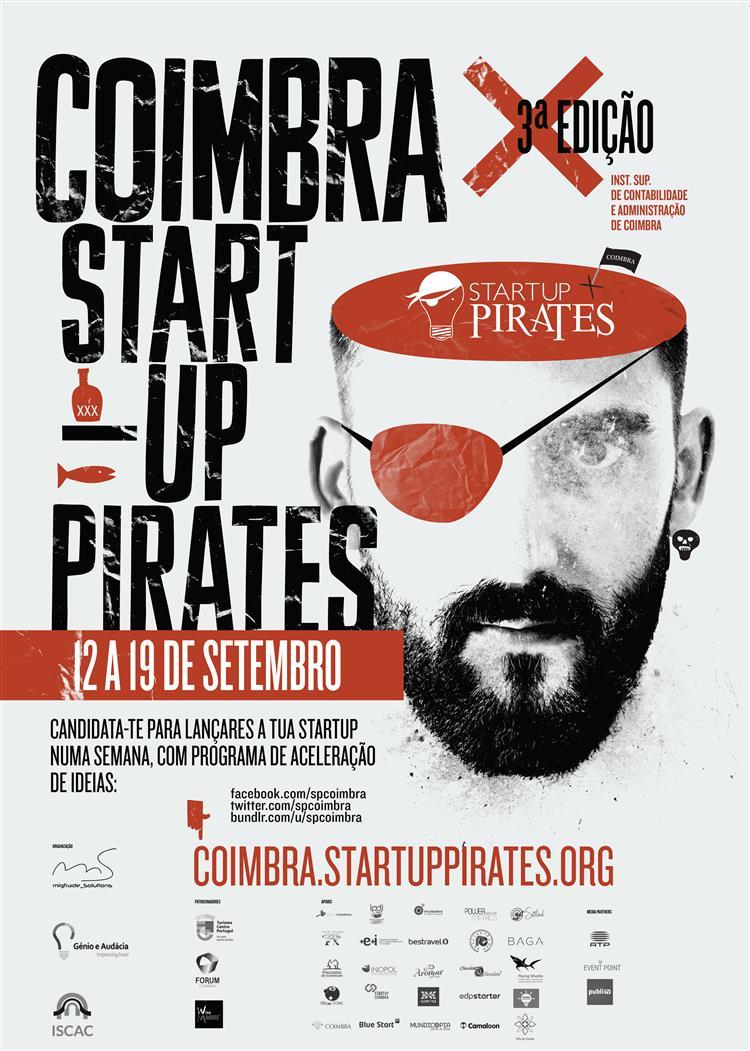 3ª edição do Startup Pirates. As inscrições ainda estão abertas.