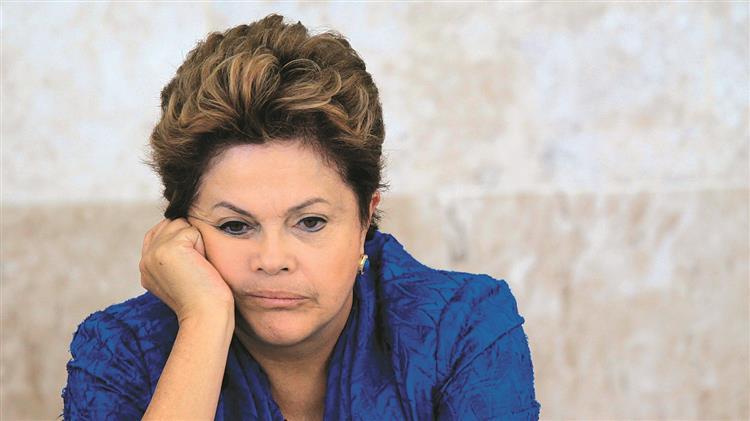 Dilma Rousseff afastada da presidência do Brasil
