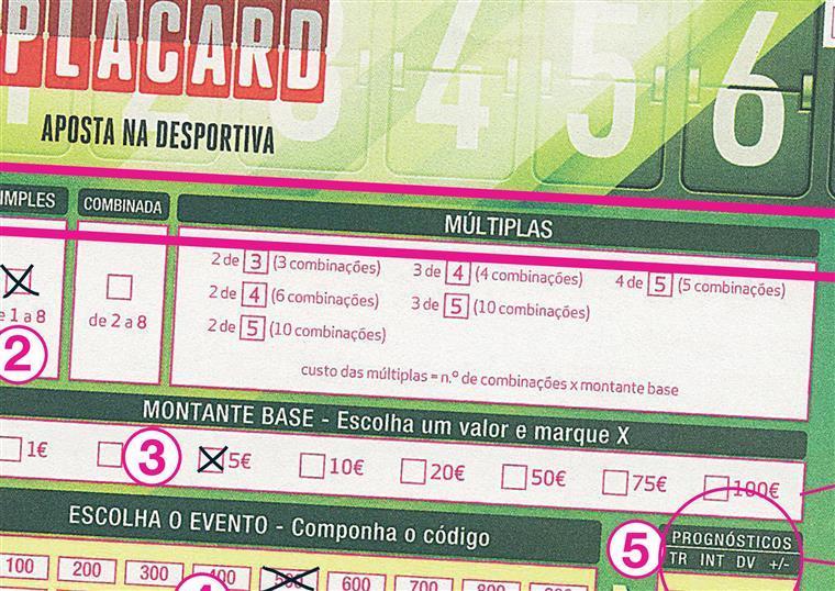 Placard apostas simples como funciona