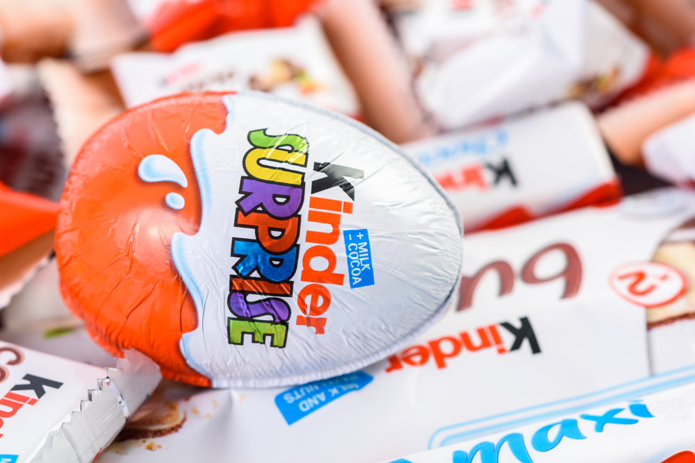 Morre William Salice, inventor do Kinder Ovo, aos 83 anos