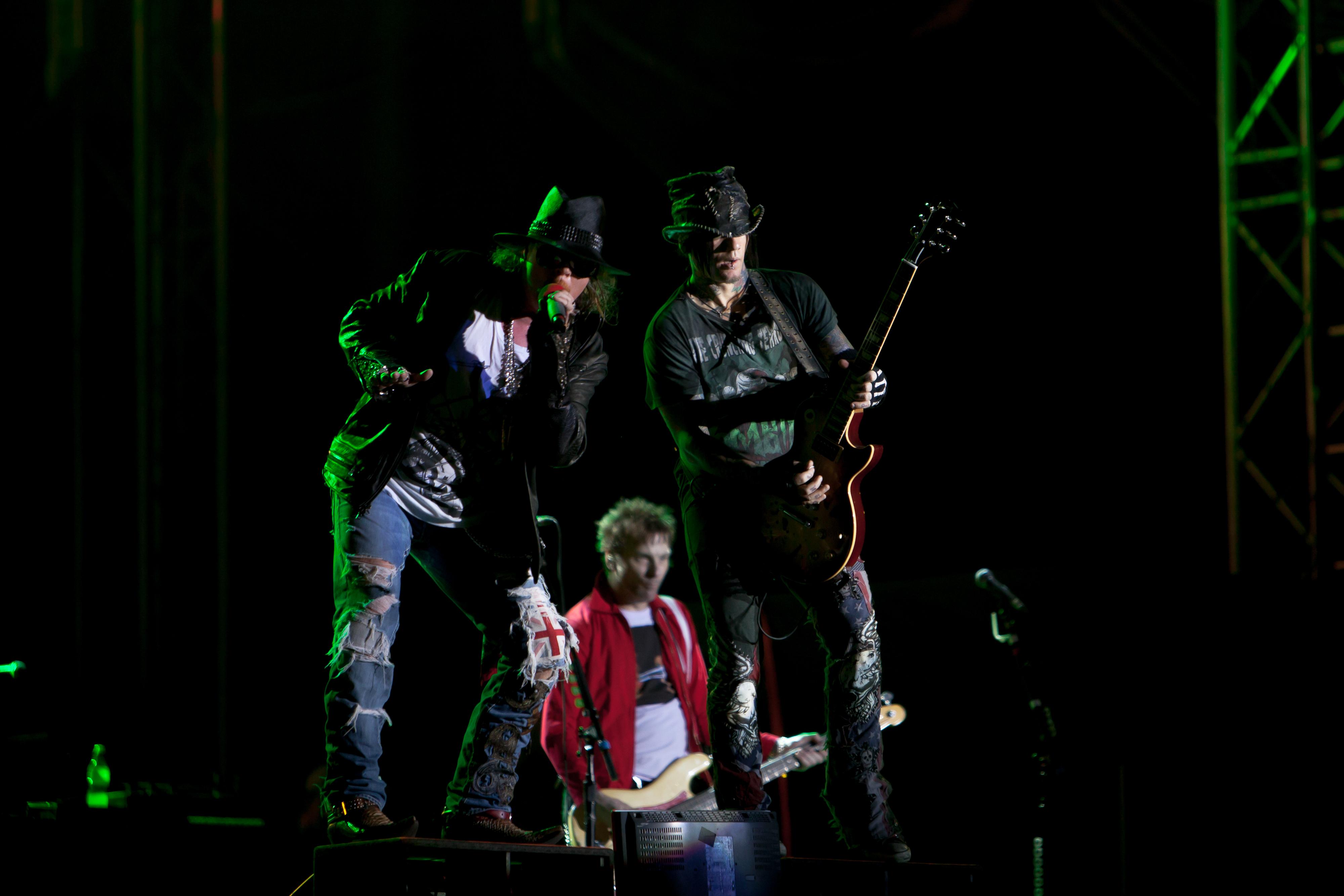 Guns n' Roses em Lisboa em junho — Oficial