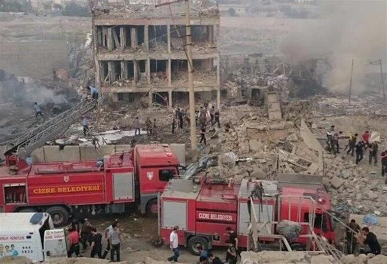 Explosão na Turquia provoca nove mortos