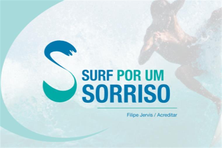 Surf por um Sorriso. Acreditar e Filipe Jervis associam-se em evento solidário pioneiro em Portugal