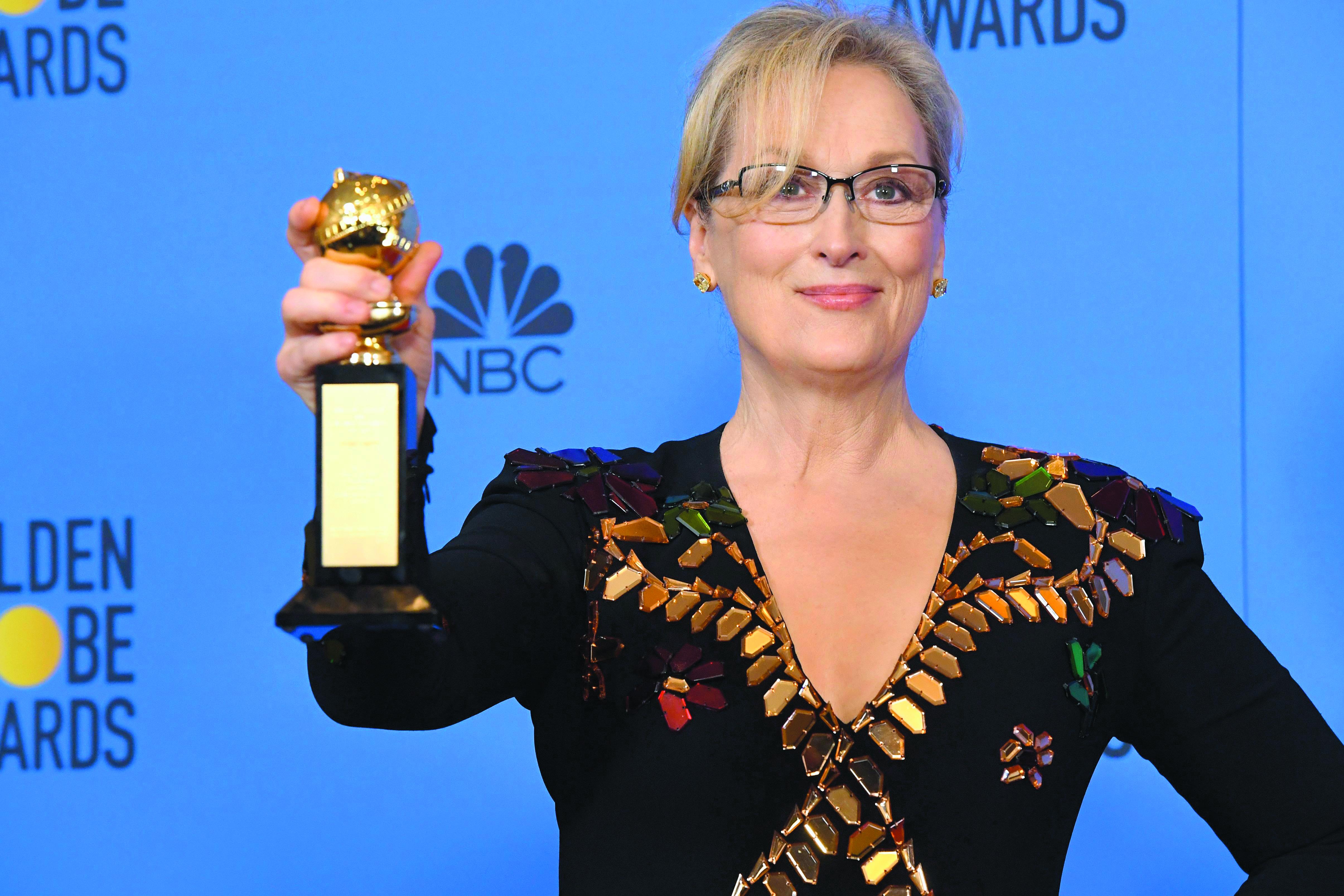 Globo de Ouro: Meryl Streep critica Donald Trump em discurso