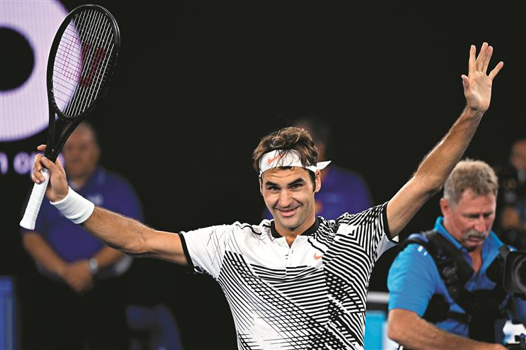 Open da Austrália. Federer faz tábua rasa dos recordes e já é o favorito para a vitória final