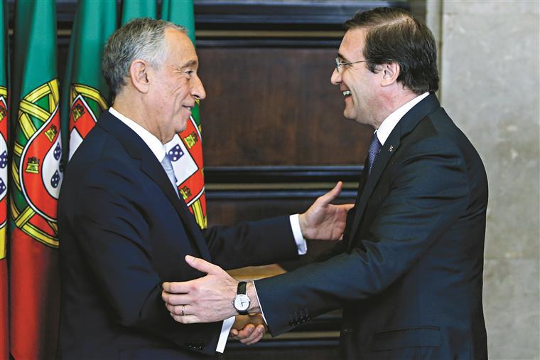 PSD. Marcelo 'exagera' no  apoio ao governo